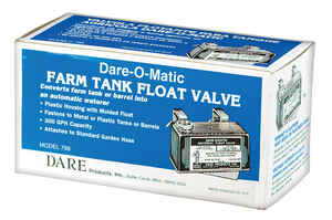 Dare Products  Plastic  Float Valve