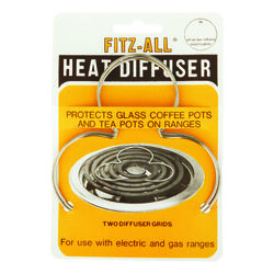 Tops  Fitz-All  Copper  Heat Diffusers  4 in. W x 4 in. L