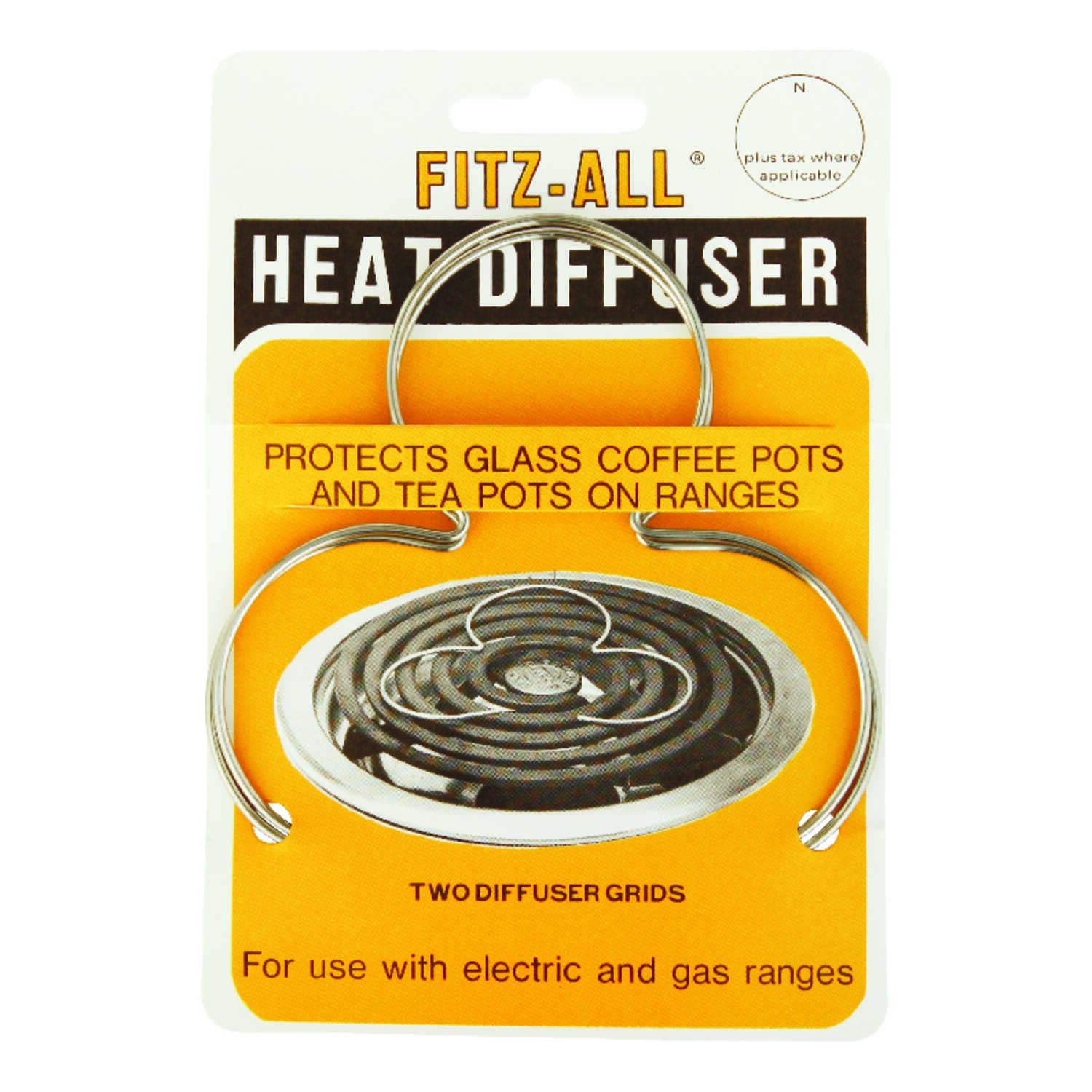 Tops Fitz-All Copper Heat Diffusers 4 in. W x 4 in. L - Ace Hardware