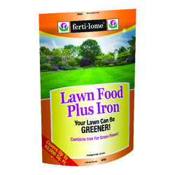 Ferti-Lome  Plus Iron  24-0-4  Lawn Food  For All Grass Types 40 lb. 10000 sq. ft.