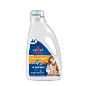 Bissell  Allergen Cleansing  No Scent Carpet Cleaner  60 oz. Liquid  Concentrated