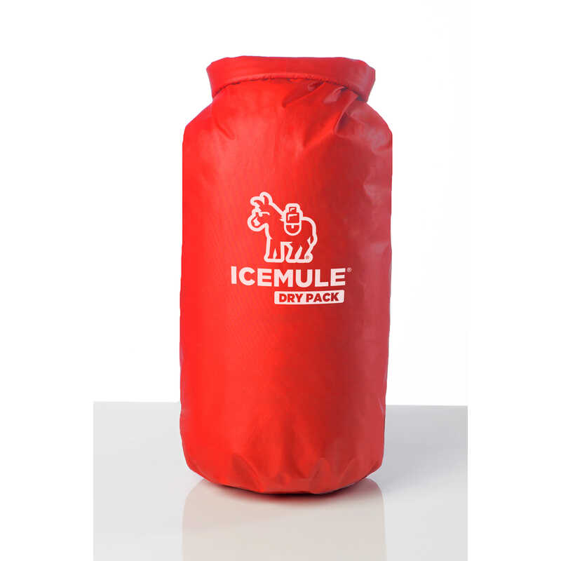 IceMule  Dry Pack  Cooler  10 L 1 pk Red