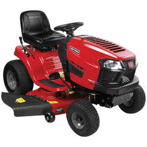 Craftsman  46 in. W 547 cc Riding  Lawn Tractor