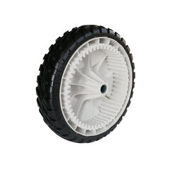 Toro  Gear Assembly  2 in. W x 8 in. Dia. Plastic  Lawn Mower Replacement Wheel