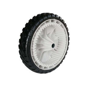 Toro  Gear Assembly  8 in. Dia. x 8 in. W Plastic  Lawn Mower Replacement Wheel