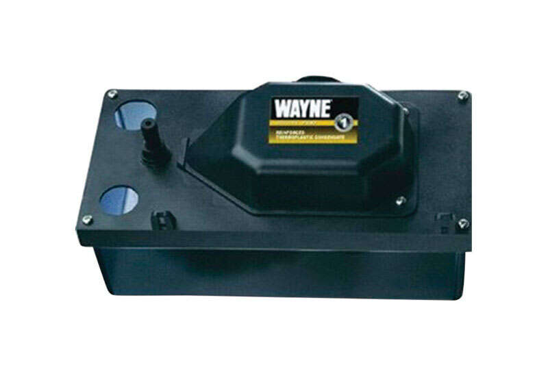 Wayne  1/10 hp 85 gph Thermoplastic  Switchless  AC  Condensate Removal Pump