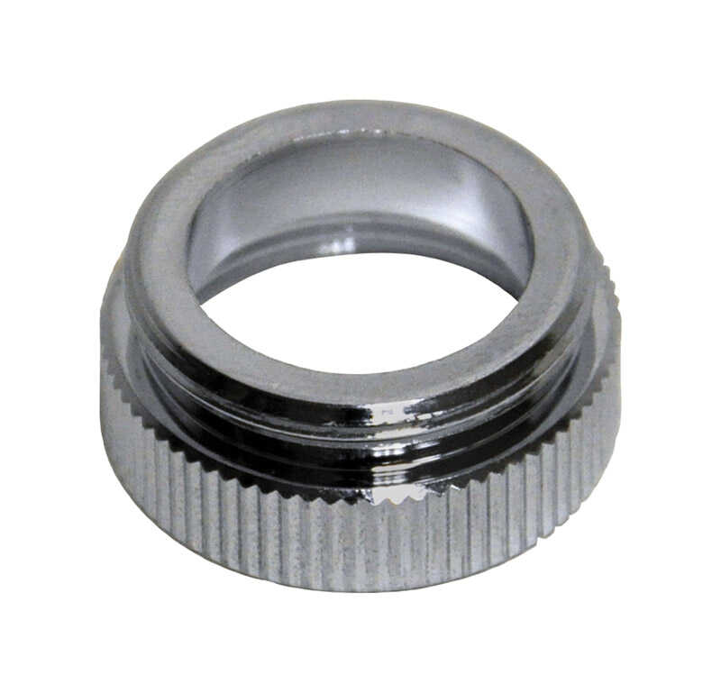 Danco  Aerator Adapter  55/64 in.  x 13/16 in.  Chrome Plated