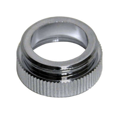 Danco  Chrome Plated  13/16 in.  x 55/64 in.  Aerator Adapter  1 pack