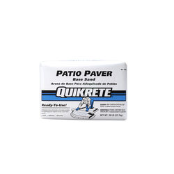 Quikrete  Patio Paver  Brown  Base Sand  50 lb.
