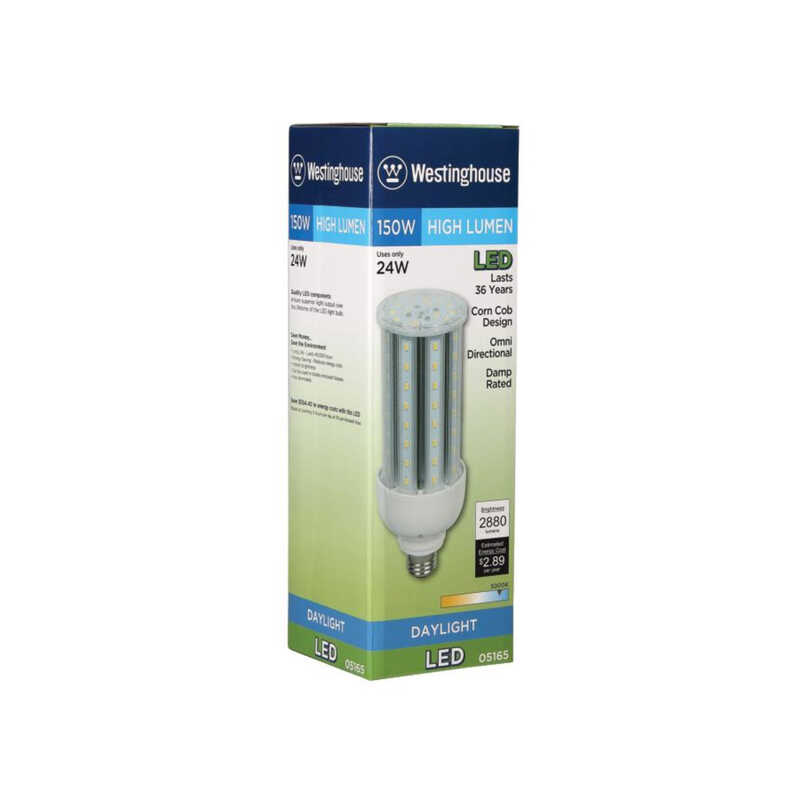 Westinghouse  24 watts T23  LED Bulb  2880 lumens Daylight  Specialty  1 pk