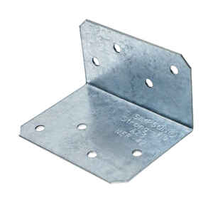 Simpson Strong-Tie  1.5 in. H x 2 in. W x 2.8 in. L Galvanized Steel  Angle
