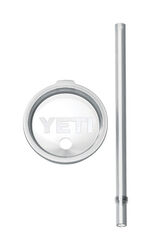 YETI  Rambler  30 oz. Tumbler Lid and Straw  Clear