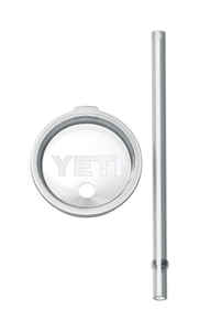 YETI  Rambler  Straw Lid  30 oz. Clear  1 each
