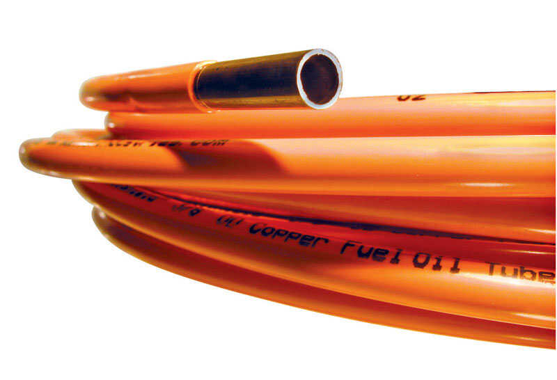Mueller  1/4 in. Dia. x 60 ORG.  L Type L  Plastic Coated Copper Tube