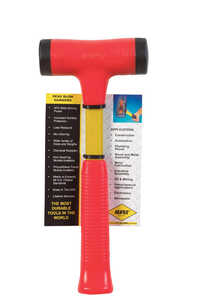 Nupla  1.5  Steel  Dead Blow Hammer  12 1/4 in. L