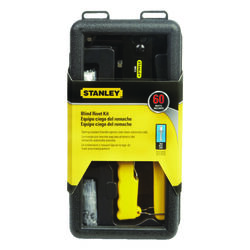 Stanley  Steel  Blind  Rivet Tool  Kit Yellow  60 pc.