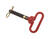 SpeeCo Steel Red Head Hitch Pin 3/4 in. Dia. x 4 in. L