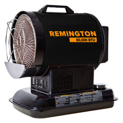 Remington 80,000 BTU/hr. 1750 sq. ft. Radiant Kerosene Heater