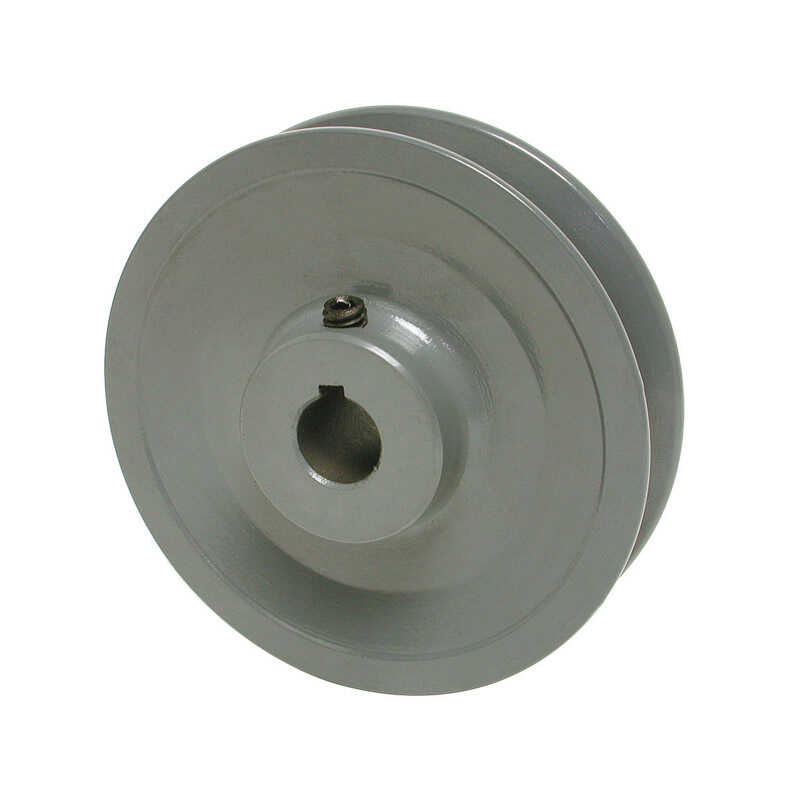 Dial  4-1/8 in. H x 4 in. W Cast Iron  Gray  Variable Motor Pulley