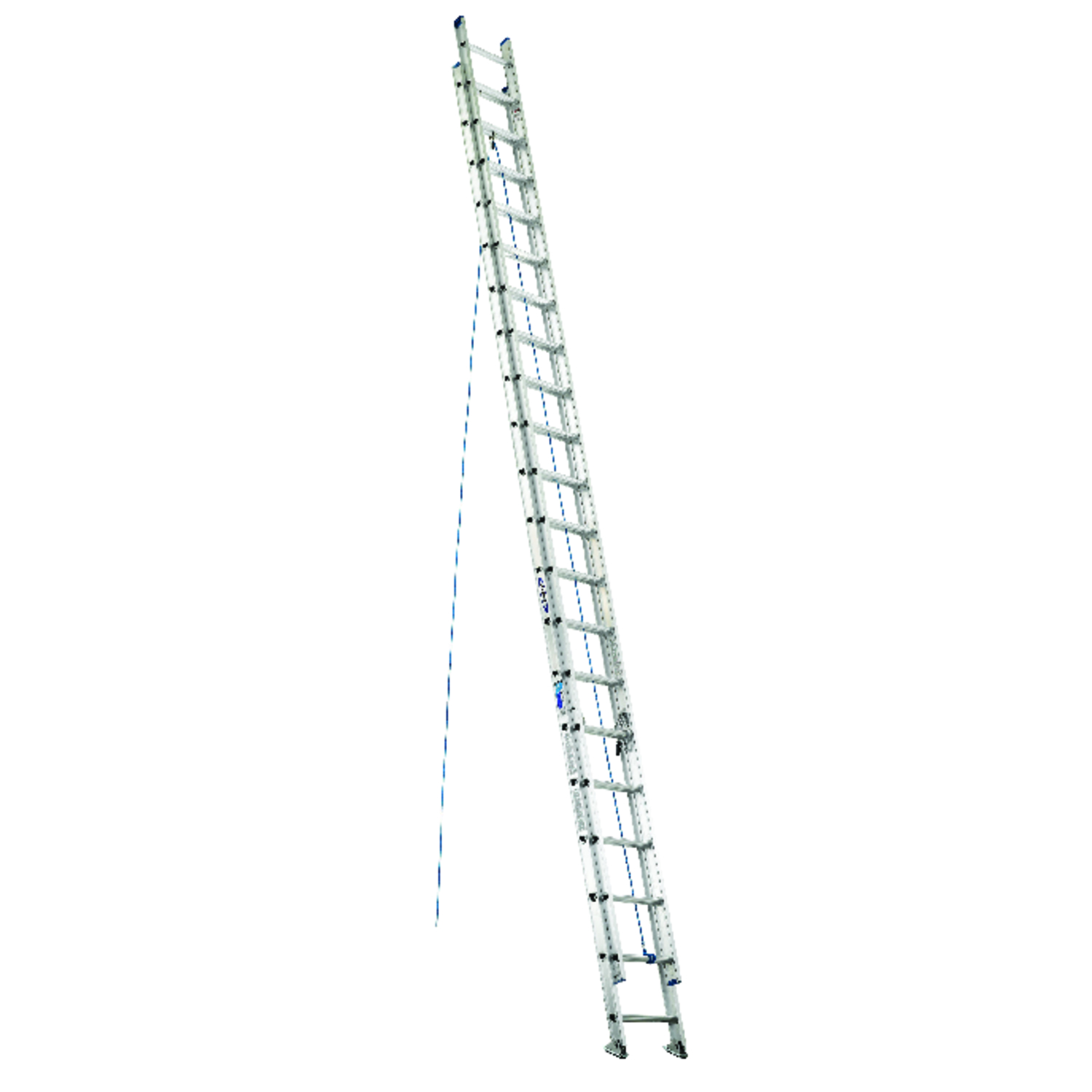 Werner  40 ft. H x 17.33 in. W Extension Ladder  Type I  250 lb. Aluminum