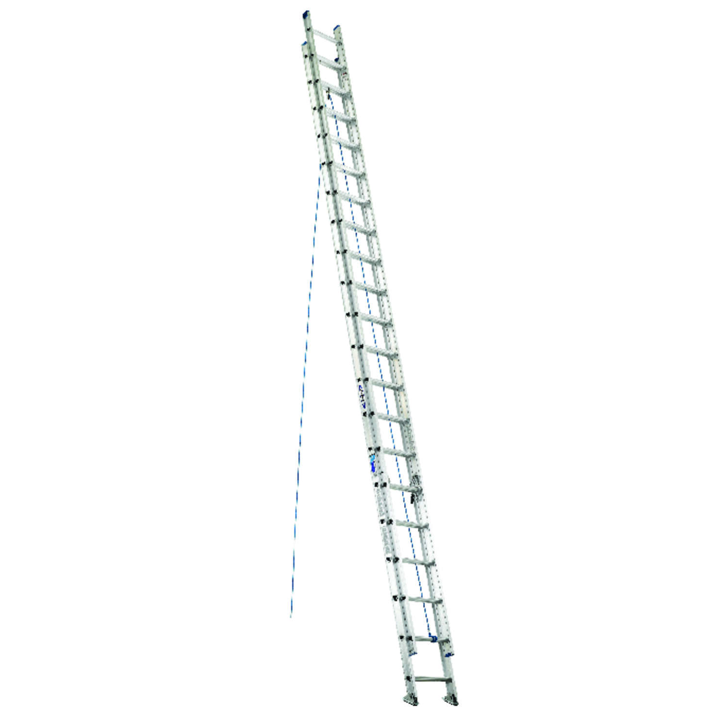 Werner  40 ft. H x 17.33 in. W Aluminum  Extension Ladder  Type 1  250 lb.