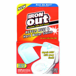 Iron Out  Pine Scent Toilet Bowl Cleaner  2/6  Powder
