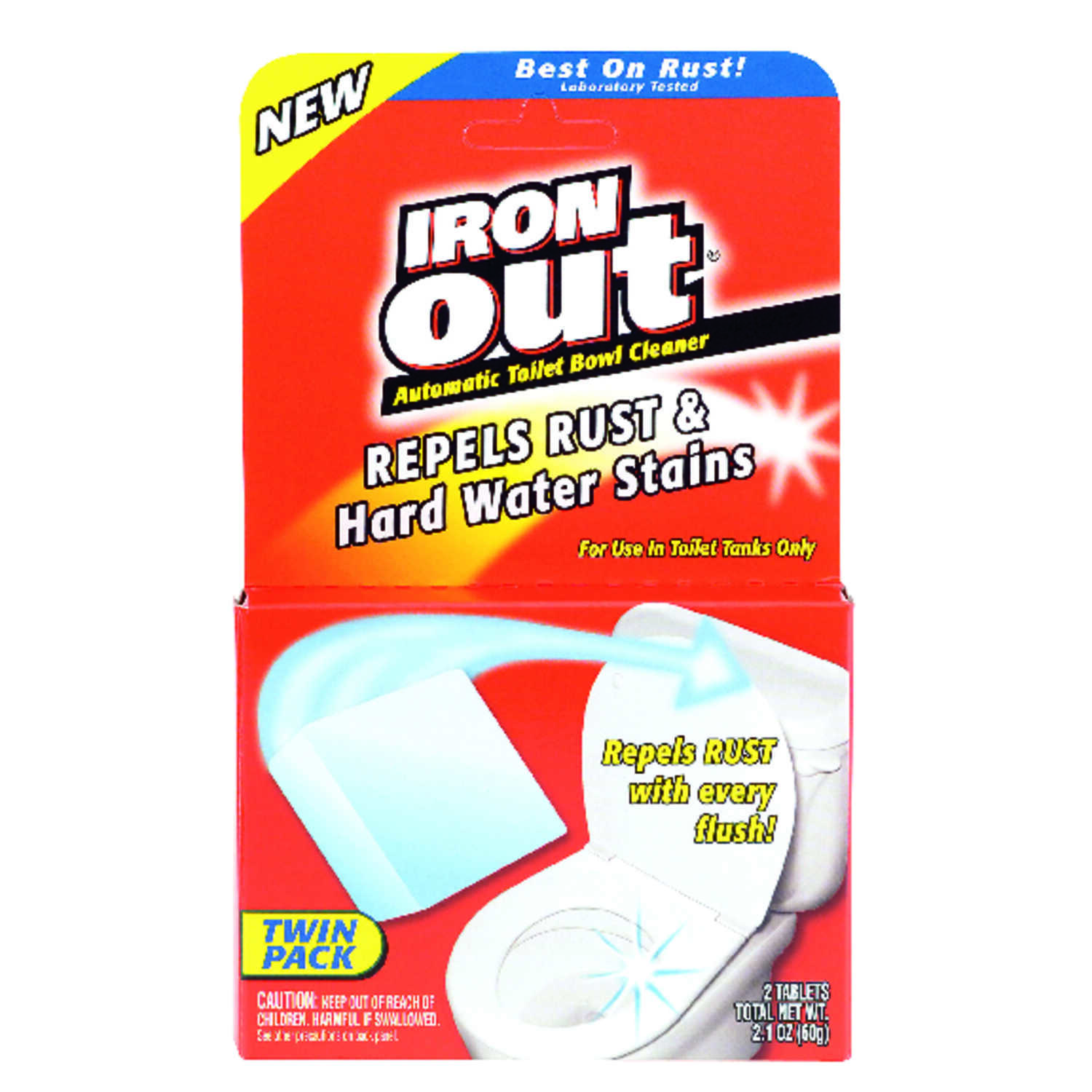 Iron Out Pine Scent Toilet Bowl Cleaner 2 6 Powder Ace