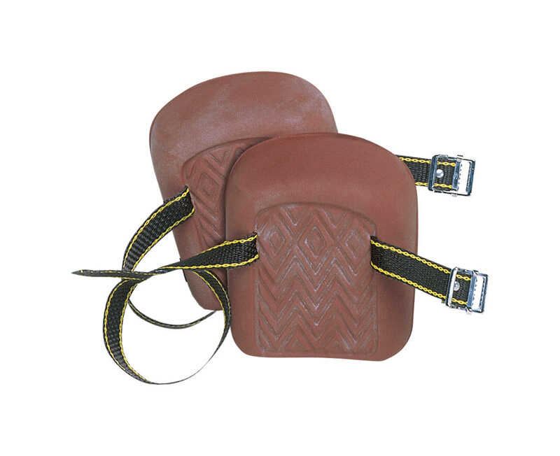 CLC  5.25 in. L x 2 in. W Knee Pads  Brown  Rubber