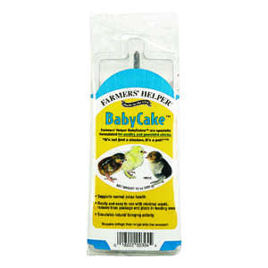 Farmers' Helper  BabyCake  Feed  Crumble  For Poultry 15 oz.