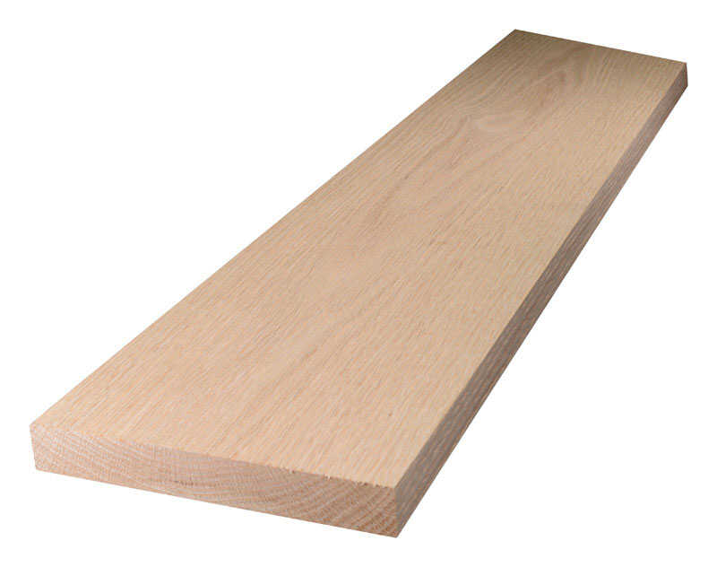 Alexandria Moulding  6 in. W x 5 ft. L x 1 in.  Oak  Board
