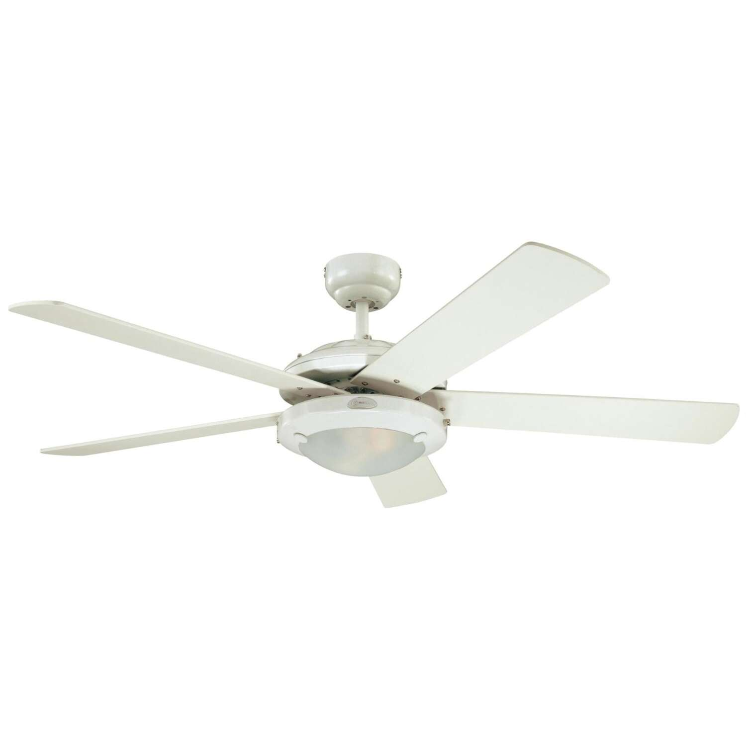 Westinghouse Comet 52 in. White Indoor Ceiling Fan