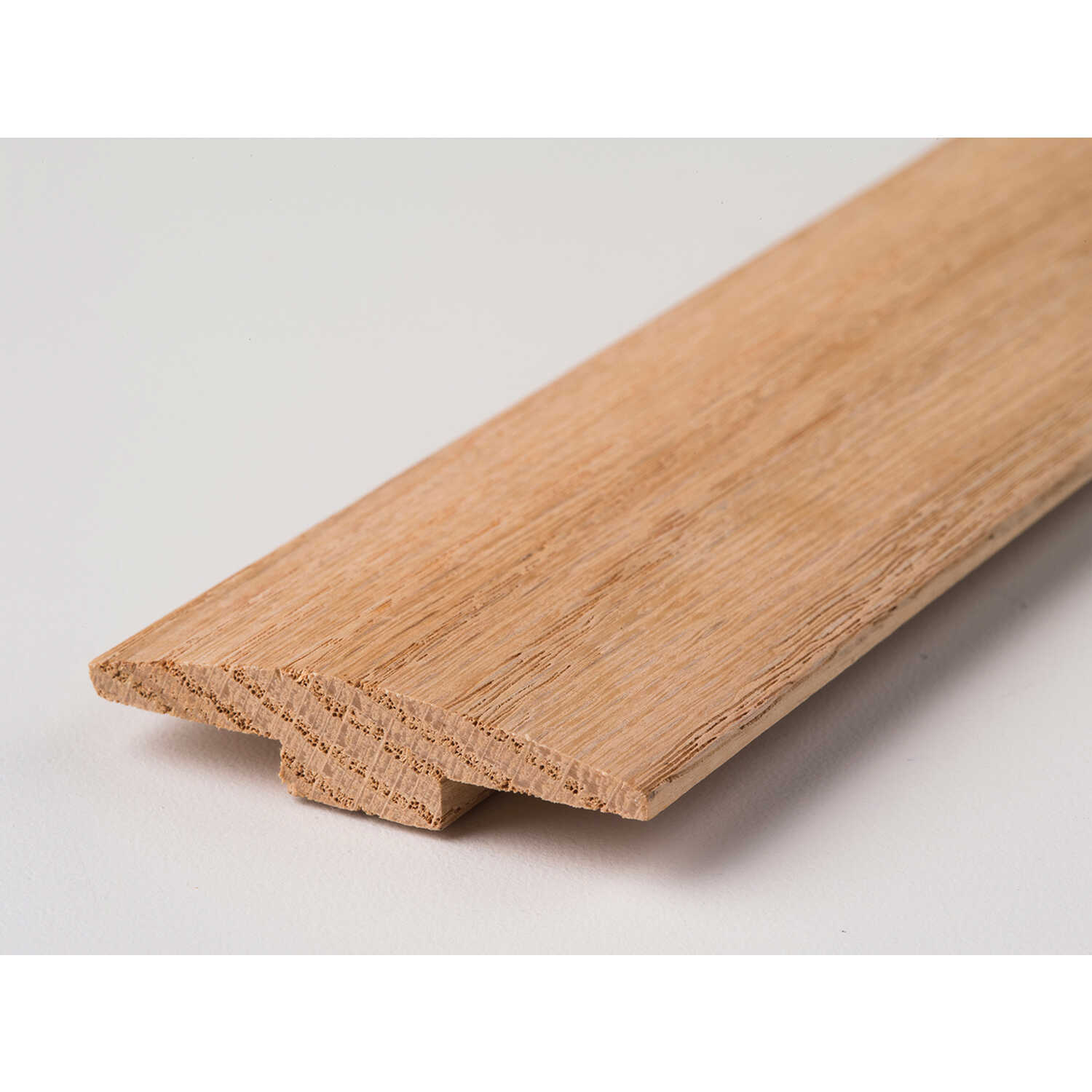 M-D Building Products  72 in. L Unfinished  Natural Oak  T-Moulding  Hardwood