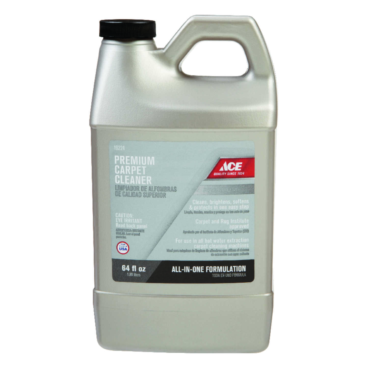 Ace  Premium  Oxy Carpet Cleaner  64 oz. Liquid  Concentrated