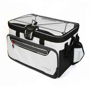 Arctic Zone  Titan DeepFreeze  Cooler Bag  48 cans White