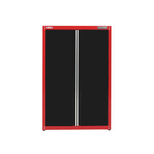 Craftsman  74 in. H x 48 in. W x 18 in. D Black/Red  Steel  Storage Cabinet