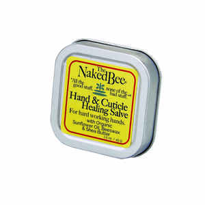 The Naked Bee  Orange Blossom Honey Scent Hand and Cuticle Healing Salve  1.5 oz. 1 pk