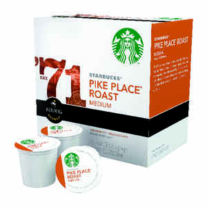 Starbucks  Pike Place Roast  Medium  Coffee K-Cups  16 pk