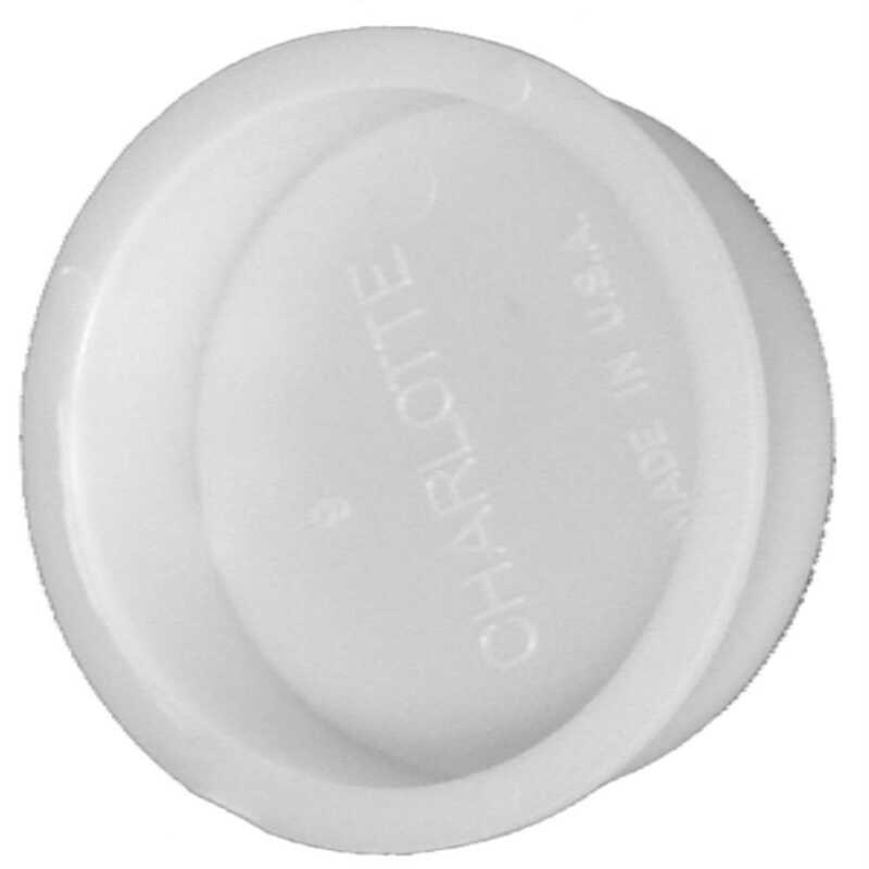 Charlotte Pipe  2 in. Dia. PVC  Test Cap