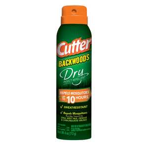 Cutter  Backwoods Dry  Insect Repellent  Liquid  For Mosquitoes 4 oz.