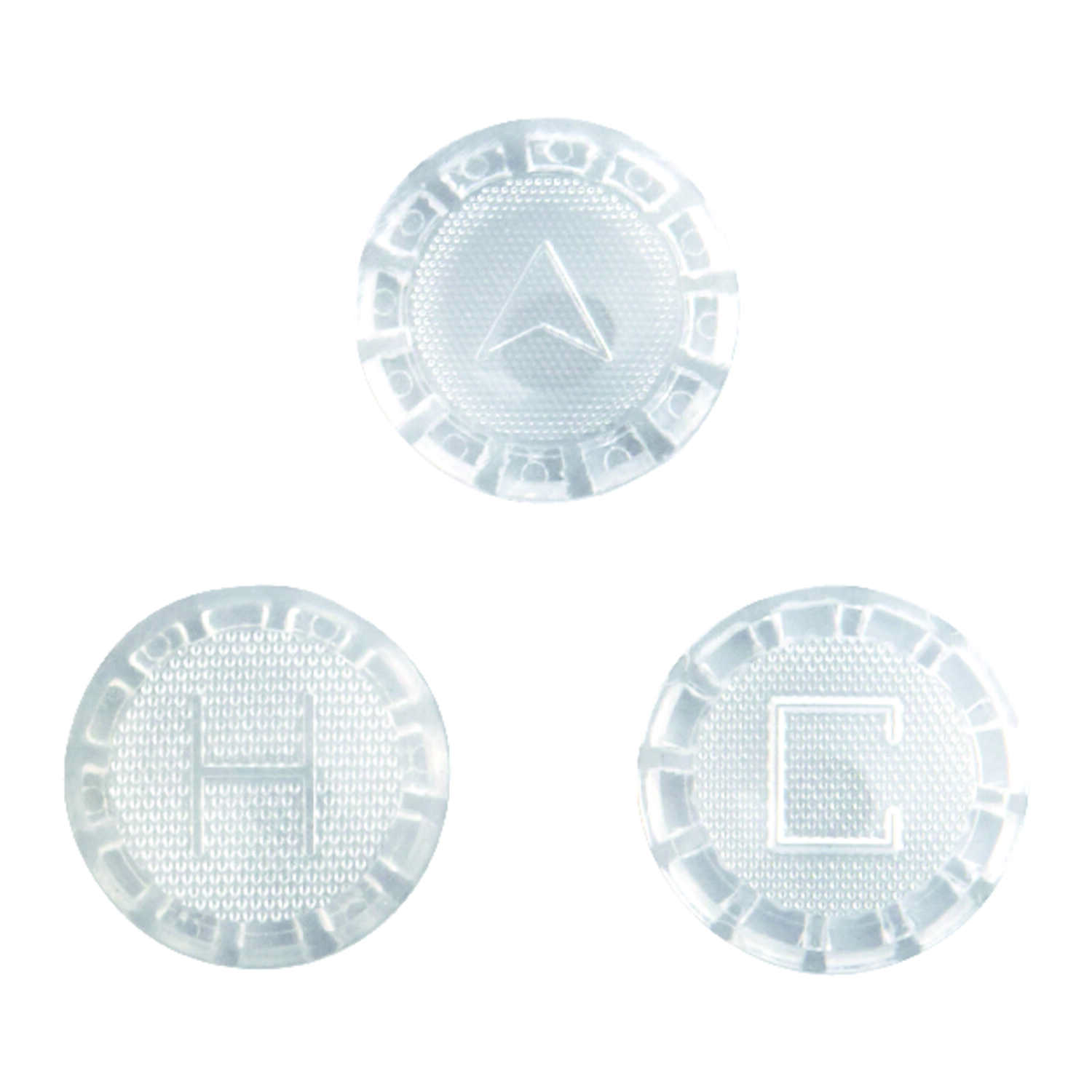 Ace  Verve  Acrylic  Clear  Hot, Cold and Diverter  Index Button