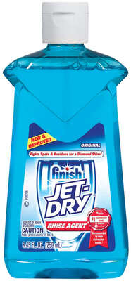 Finish  Jet-Dry  Original Scent Liquid  Dishwasher Rinse Aid  8.45 oz.