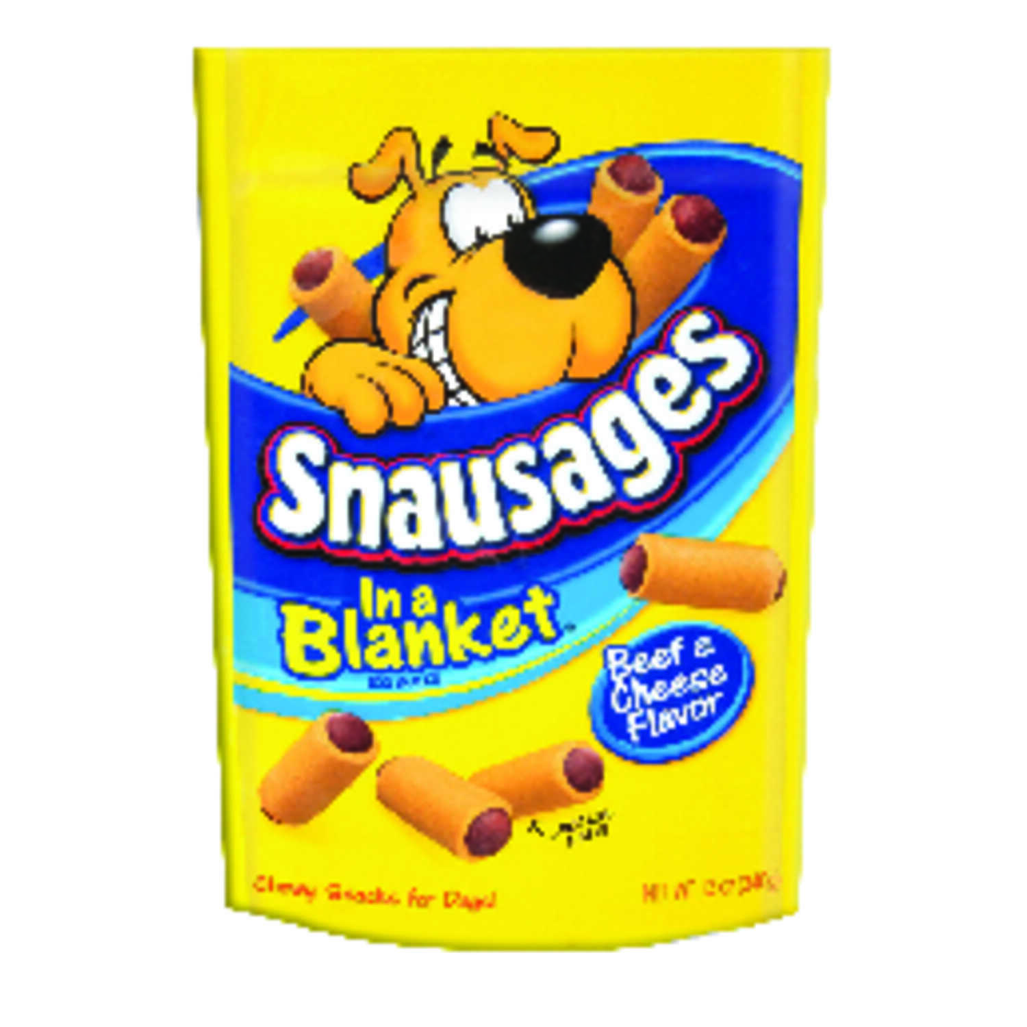 Snausages  In a Blanket  Beef and Cheese  Dog  Sausage Treat  1 pk 12 oz. 12 oz.