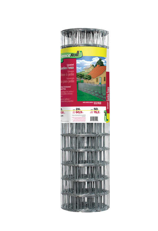 Garden Zone  24 in. H x 50 ft. L Steel