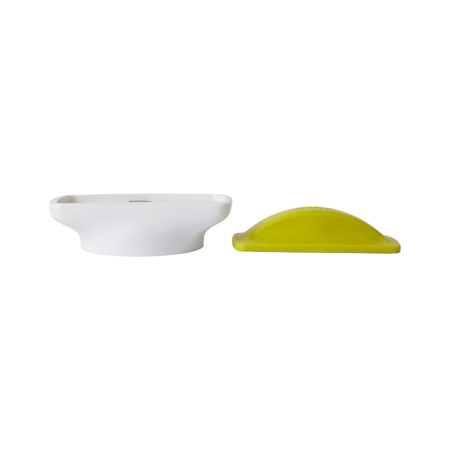 Chef'n  Quickstick  White/Yellow  Wedge/Spear Slicer Prep Lid