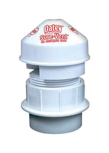 Oatey Sure-Vent  1.5 in. Sure Vent Air Admittance Valve  1-1/2 in. Dia. x 1-1/2 in. Dia.