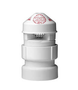 Oatey  Sure Vent  Air Admittance Valve  1.5 in. 1-1/2 X 2 in. Dia. x 1/2 in. Dia.