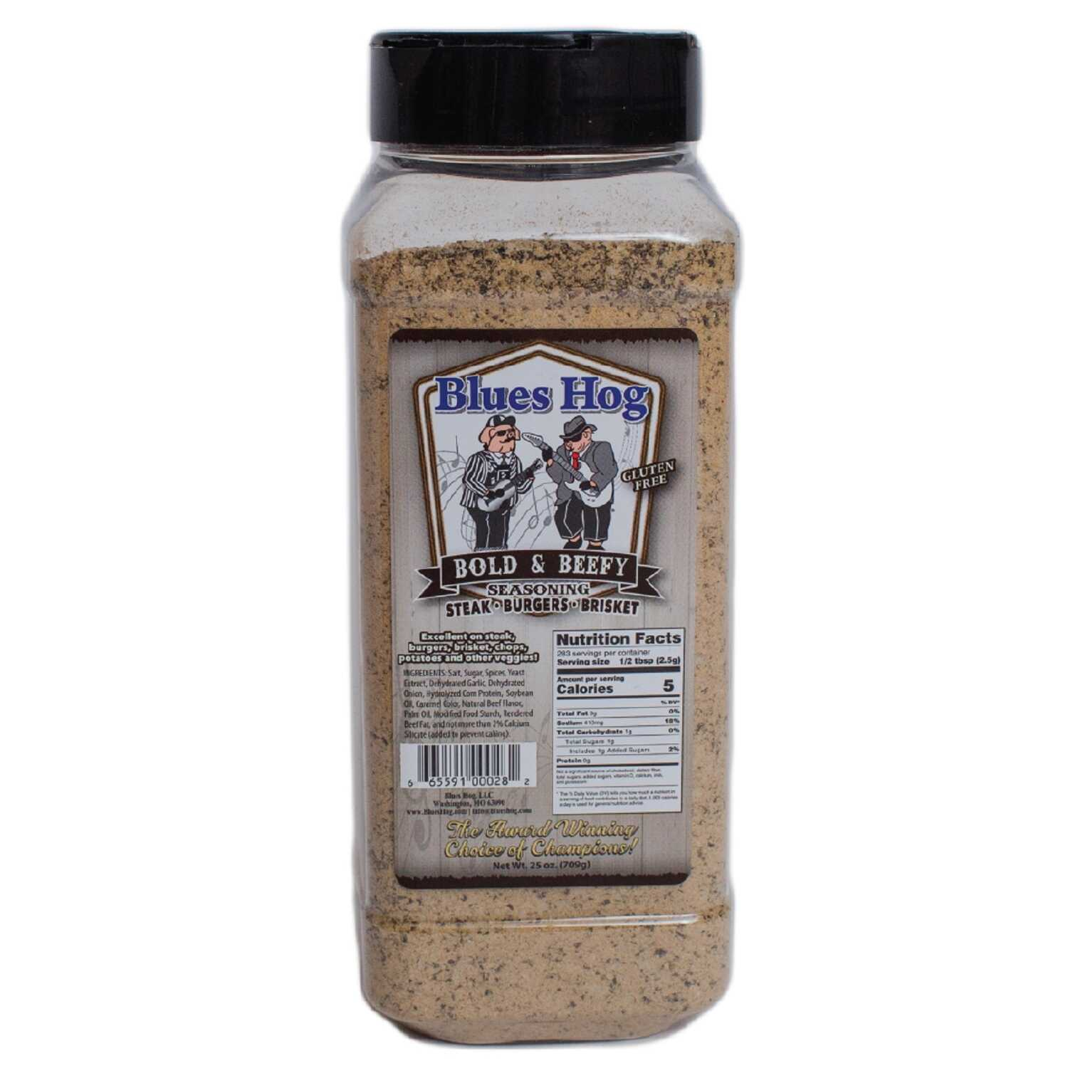 Blues Hog  Bold & Beefy  Seasoning Rub  25 oz.