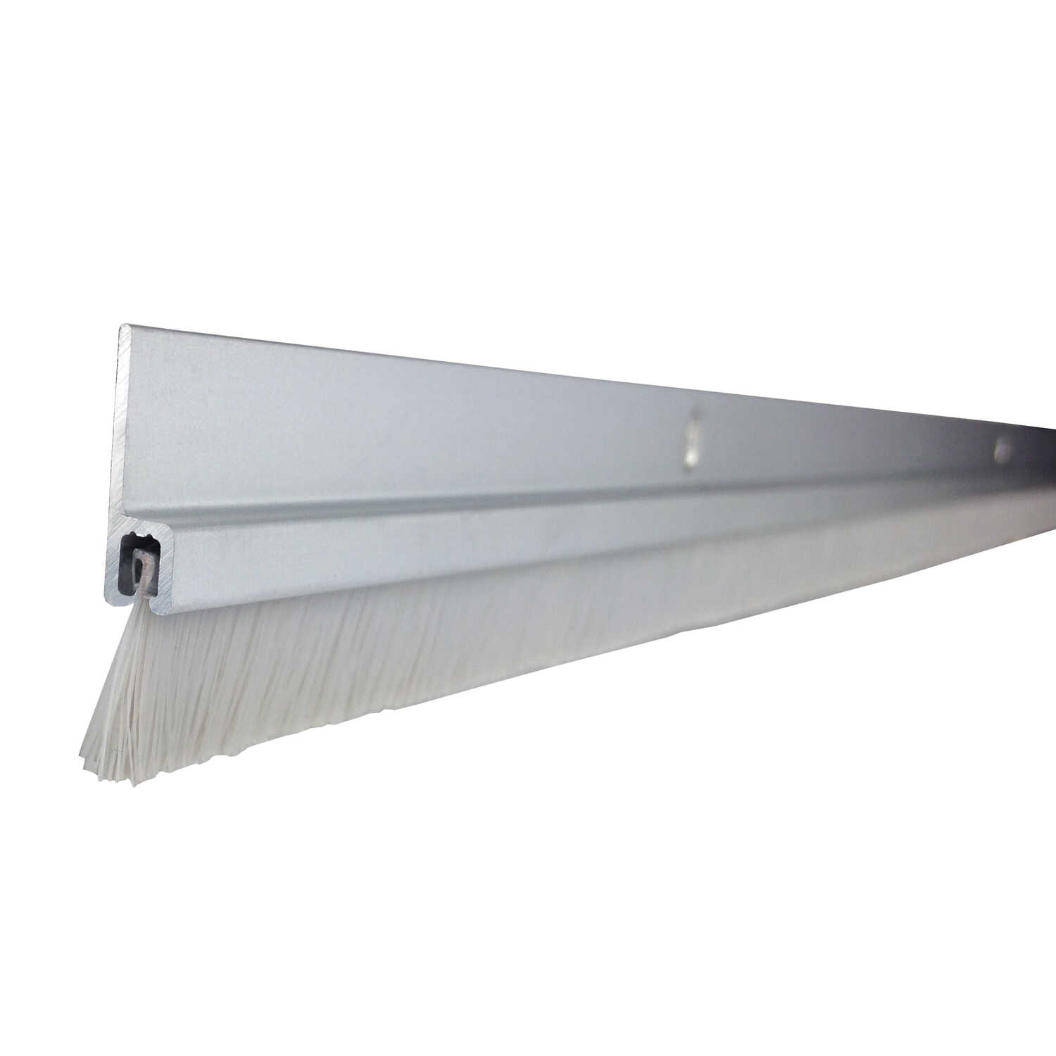 M-D Building Products  Silver  Aluminum  Door Sweep  For Door Bottom 3 ft. L x 1/8 in.