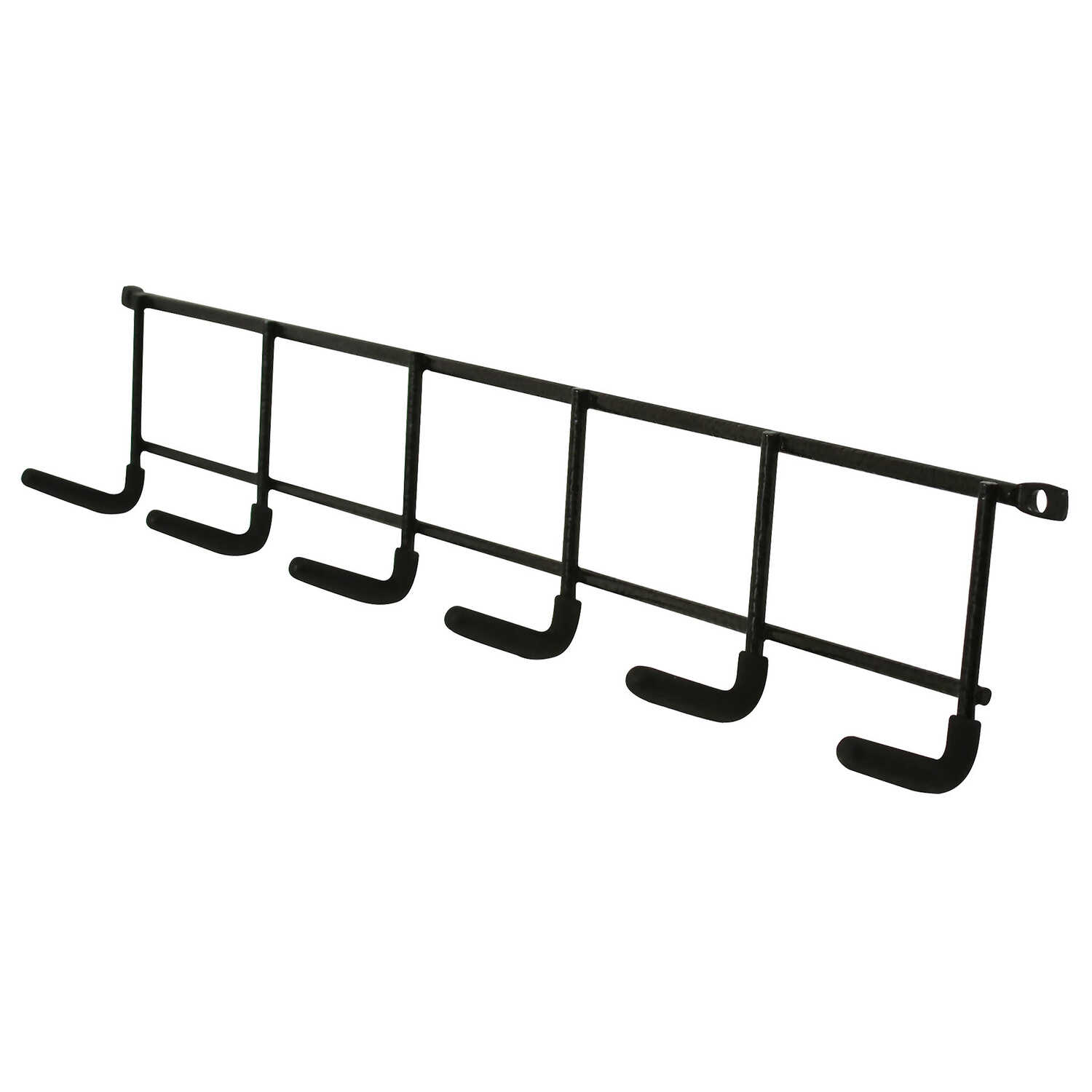 Crawford  Lehigh  Zinc-Plated  Black  Steel  Hanger Holder  15 lb. capacity 1 pk