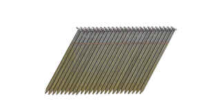 Bostitch  28 deg. 11 Ga. Smooth Shank  Straight Strip  Framing Nails  2-1/2 in. L x 0.12 in. Dia. 2,